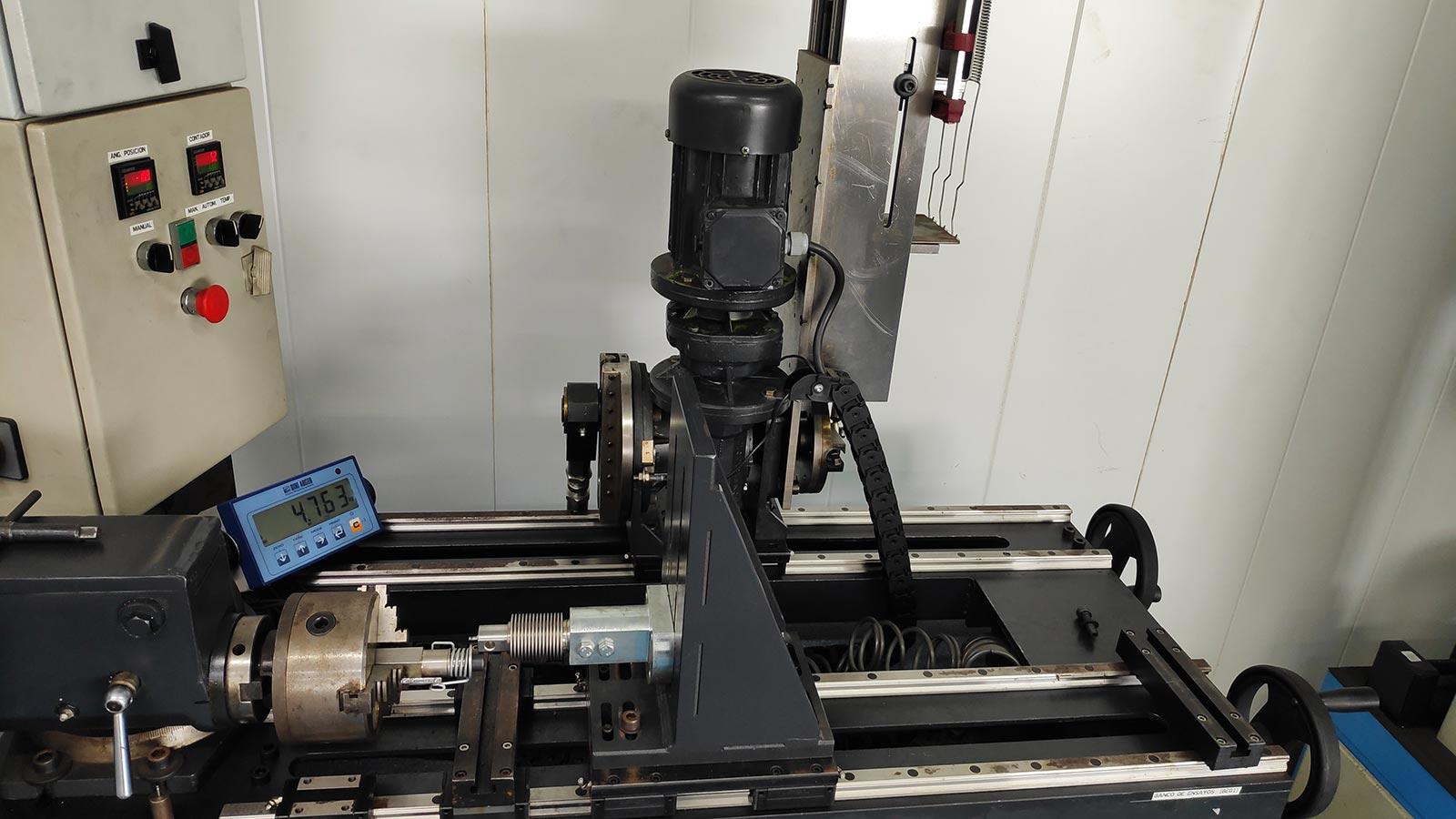 Torsiómetros y elasticómetros